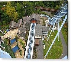 Acrylic Print featuring the photograph Busch Gardens - 121216 by DC Photographer
