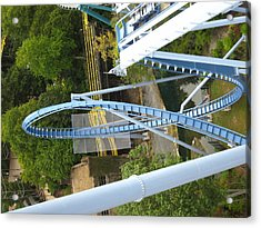 Acrylic Print featuring the photograph Busch Gardens - 121217 by DC Photographer
