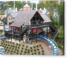 Acrylic Print featuring the photograph Busch Gardens - 121218 by DC Photographer