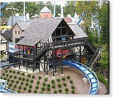 Busch Gardens - 121218 Acrylic Print by DC Photographer