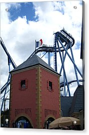 Acrylic Print featuring the photograph Busch Gardens - 121221 by DC Photographer