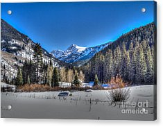 Bush Creek Valley Acrylic Print
