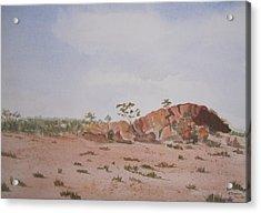 Bush Land Australia Acrylic Print