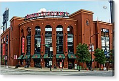 Busch Stadium Home Of The St Louis Cardinals Acrylic Print