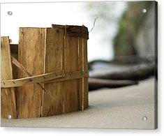 Acrylic Print featuring the photograph Bushel Basket by Rebecca Sherman