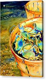 Bushel Of Gold Acrylic Print