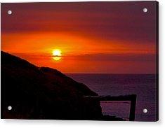 Bushfire Sky Acrylic Print
