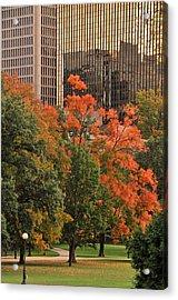 Bushnell Park Acrylic Print
