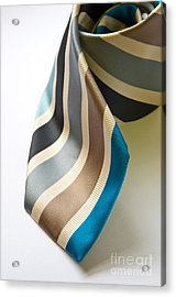 Business Tie Acrylic Print by Tim Hester