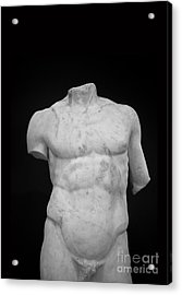 Bust Acrylic Print by Edward Fielding