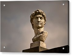 Acrylic Print featuring the photograph Bust Of Apollo by Nadalyn Larsen