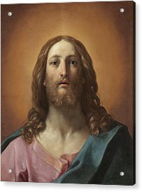 Bust Of Christ Acrylic Print