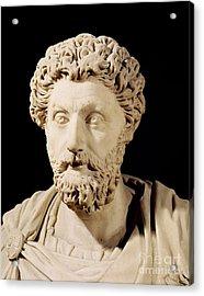 Bust Of Marcus Aurelius Acrylic Print