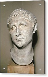 Bust Of Pompey. 1st C. Copy Acrylic Print by Everett