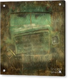 Busted And Broke Acrylic Print by Bruce Stanfield
