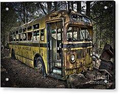 Bus'ted Acrylic Print