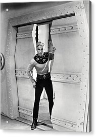 Buster Crabbe In Flash Gordon  Acrylic Print by Silver Screen