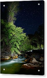 Acrylic Print featuring the photograph Busy Night by David Andersen