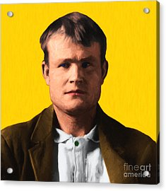 Butch Cassidy 20130513 Square Acrylic Print by Wingsdomain Art and Photography