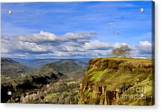 Butte Creek Canyon Overlook Acrylic Print