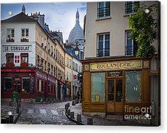 Butte De Montmartre Acrylic Print by Inge Johnsson