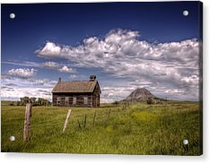Butte View Acrylic Print