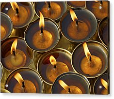Butter Lamps Acrylic Print