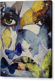 Butterflies Acrylic Print by Michael Creese