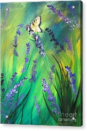 Butterfly 3 Acrylic Print by Laurianna Taylor