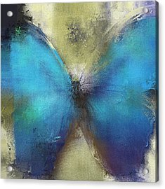 Butterfly Art - Ab0101a Acrylic Print by Variance Collections