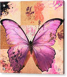 Butterfly Art - Sr51a Acrylic Print by Variance Collections