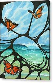 Butterfly Beach Acrylic Print