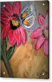 Butterfly Breakfast Acrylic Print