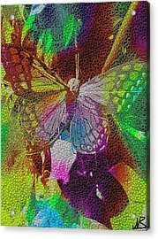 Butterfly By Nico Bielow Acrylic Print