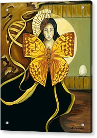 Butterfly Dreaming Acrylic Print
