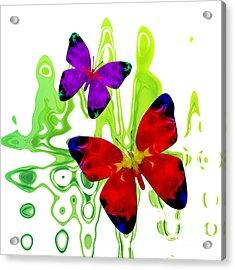 Butterfly Duet - Harmony Acrylic Print