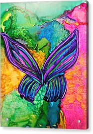 Butterfly Effect Acrylic Print by Kelly Dallas