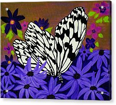 Butterfly Heaven Acrylic Print by Celeste Manning