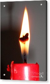 Butterfly Flame Acrylic Print