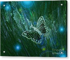 Butterfly Magic By Jrr Acrylic Print