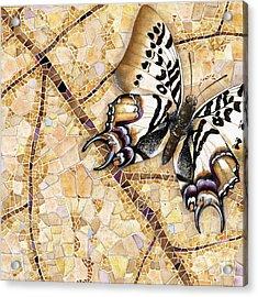 Butterfly Mosaic 01 Elena Yakubovich Acrylic Print