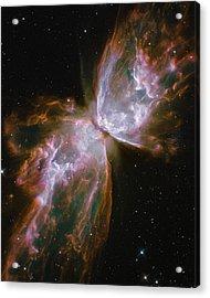 Butterfly Nebula Acrylic Print by Nasa