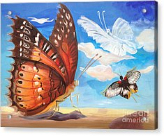 Butterfly Paysage 2 Acrylic Print