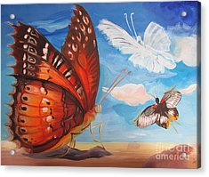 Butterfly Paysage 5 Acrylic Print