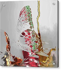 Butterfly Acrylic Print by Soumya Bouchachi