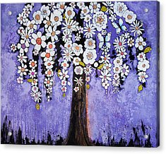 Butterfly Tree Acrylic Print