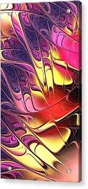 Butterfly Wing Acrylic Print by Anastasiya Malakhova