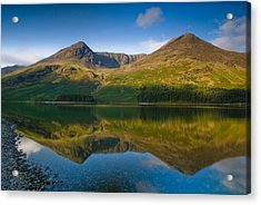 Buttermere Reflection Lake District Acrylic Print by David Ross