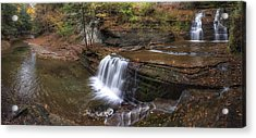 Buttermilk Creek Falls Acrylic Print