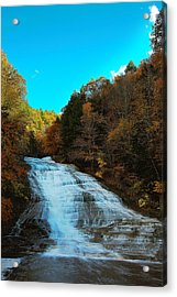 Acrylic Print featuring the photograph Buttermilk Falls Ithaca New York by Paul Ge